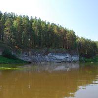 река Нейва, скалы Утес, Зыряновский