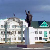 Ивдель. Памятник Ленину., Ивдель