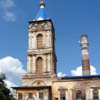 Церковь и завод. 2009 г, Ирбит