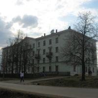 бывшее Исовское общежитие при техникуме, Ис