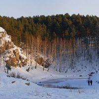 Закат на реке Каменке, Каменск-Уральский