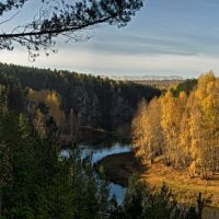 Золотая осень на Каменке, Каменск-Уральский
