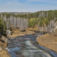 Лед на Каменке III, Каменск-Уральский