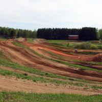 Terrain de cross à Kamensk, Каменск-Уральский