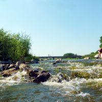 Камышлов. Река Пышма на перекате., Камышлов