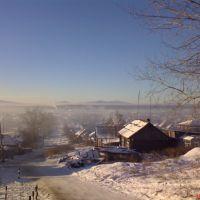 Улица Свободы, вид с горы..., Карпинск