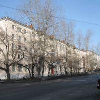 Улица Мира., Карпинск