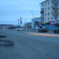 Утро в Карпинске, Карпинск