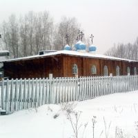 Церковь в Кировграде. Фото на мобильник. 2009 г, Кировград