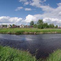 Река Турья в районе Дунькиной деревни, Краснотурьинск