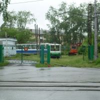 Краснотурьинск. Трамвайный парк., Краснотурьинск