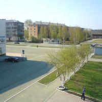 вид с балкона санатория-профилактория, Красноуральск