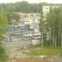 с крыши, Красноуральск