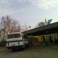 Перрон автовокзала, Красноуфимск