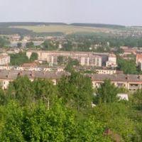 Вид на восточную часть города с Дивьей горы, Красноуфимск