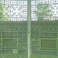 Кованые ворота. Wrought-iron gates., Красноуфимск