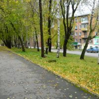 Улица ухтомского Ukhtomskogo street, Красноуфимск