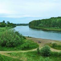 Красноуфимск. Вид на реку Уфа., Красноуфимск