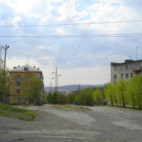Начало ул. Красноармейской, Кушва