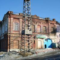 Старый дом на ул. Первомайской, 50, Кушва