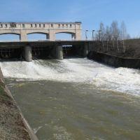 Сток с плотины, Михайловск