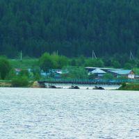 Михайловск. ЖД дамба и мост через пруд., Михайловск
