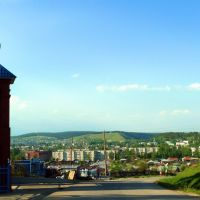 Михайловск. Вид на город с холма., Михайловск