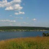 Михайловский пруд, панорама с Пильнинского кукана, Михайловск