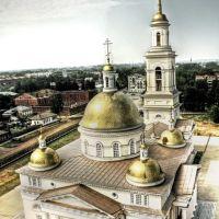Вид с падающей башни, Невьянск