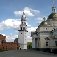 The Cathedral of the Transfiguration of the Saviour and Leaning Tower of Nevyansk / Собор Спаса Преображения и падающая башня, Невьянск