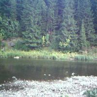 Serga river  Серга, Нижние Серги