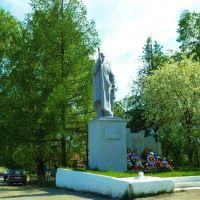 Нижние Серги. Памятник Победы., Нижние Серги