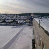 Вид из окна районной больницы., Нижние Серги