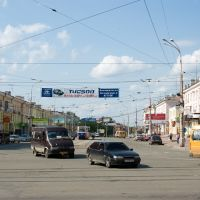 Проспект Мира в районе проспекта Ленина / The Mira prospectus near the Lenin prospectus (13/06/2008), Нижний Тагил