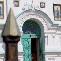вход в церковь, Нижняя Салда