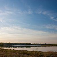 Нижнесалдинский пруд. Май. Вечер, Нижняя Салда