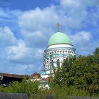 Нижняя Салда. Купол храма Александра Невского., Нижняя Салда