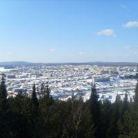 city view from the mountain Shaitan, Нижняя Тура