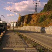 Дорога к плотине, Нижняя Тура