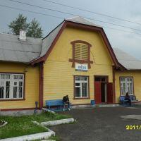 вокзал, Новая Ляля