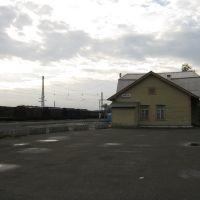 Вокзал, ст. Нова Ляля, 2010., Новая Ляля