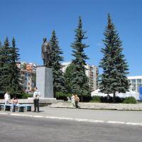 Центральная площадь. Памятник Ленину, Первоуральск