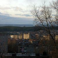 City view from Sovetskaya str., Первоуральск