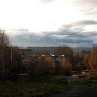 Looking down from Sovetskaya str., Первоуральск