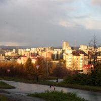 City view from Vatutina str., Первоуральск