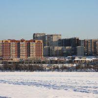 Жилой район Первоуральска. Residencial area in Pervouralsk, Первоуральск