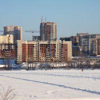Новостройки Первоуральска. Newly built residences in Pervouralsk, Первоуральск
