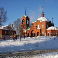 Храм в Первоуральске. Church in Pervouralsk, Первоуральск