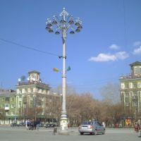 ПОЛЕВСКОЙ. Площадь у ДК СТЗ., Полевской