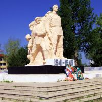 Памятник героям-освободителям, Пышма, Свердловская область, Пышма